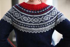 Ravelry: Marius-genser rund sal pattern by Unn Søiland Dale Fair Isle Knitting Patterns, Fair Isle Pattern, Knit Patterns, Norwegian Knitting, Folk Fashion, Knitting Projects, Ravelry, Christmas Sweaters, Knit Crochet