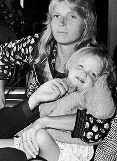 Linda and Stella McCartney....What A Wonderful Picture of Baby Stella With Her Mom, Linda...Paul & Linda's First Child Together....