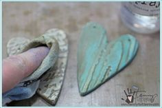 Stamped Paper Clay Bowls | Kids Crafting | www.tammytutterow.com