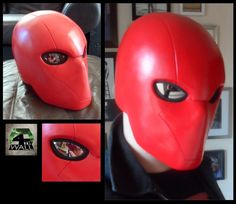 Red hood helmet by 4thwall designs