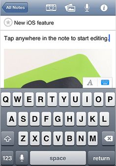 Evernote for iOS Update Makes Editing Notes Easier