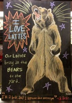 I am a bear and I approve this message