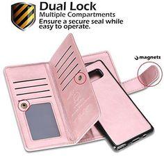 Samsung Galaxy Note 8 Wallet Case Flip Shockproof Card Holder PU Leather Pink for sale online Samsung Galaxy Note 8, Pu Leather, Card Holder, Notes, Wallet, Pink, Ebay, Rolodex, Report Cards