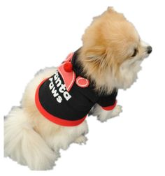 8705cb1d2dd Santa Paws Hoodies Dog Sweater Clothes For Teddy