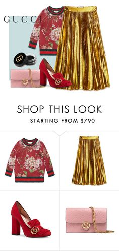 """""""Gucci"""" by style-beyond-shopping ❤ liked on Polyvore featuring Gucci"""