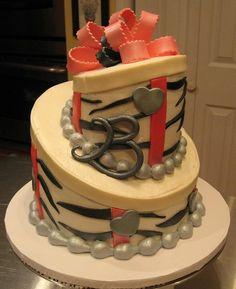 Brittanys 23rd Birthday Cake