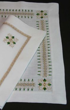 Gorgeous Hand Done Table Linens