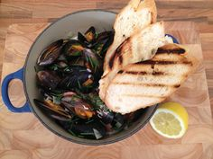 Mussels with Cider and Bacon - This recipe is as quick and simple as can be and great for a treat after a long day, so why not treat yourself and try it today! - www.fishisthedish.co.uk/recipes/mussels-with-cider-and-bacon