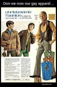 Vintage clothes of men pictures