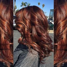 Layout fall hair color for brunettes in 2019 цвет волос, дли Red Highlights In Brown Hair, Reddish Brown Hair Color, Hair Color Auburn, Hair Color And Cut, Carmel Highlights, Brown Blonde, Balage Hair, Dye My Hair, Fall Hair Color For Brunettes