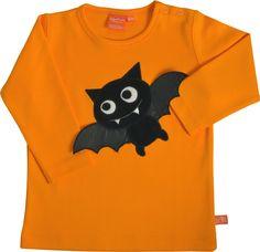 LipFish Langarm-Shirt Fledermaus Betty orange 41370 bei Papiton kaufen.