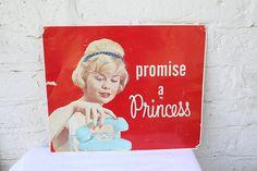 Vintage Telephone Advertising / Princess Phone Ad / 1950s