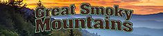 """Reminisce GREAT SMOKY MOUNTAINS 2"""" x 10"""" TITLE STICKER scrapbooking"""