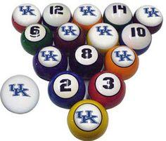 Best Place To Buy University Of Kentucky Pool Balls Related UK Wildcats  Items Below University Of Kentucky Pool Table Cover University O.