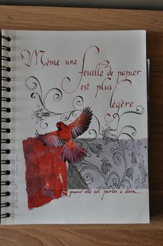 Cahier de citation n°25 - Coeur cannelle