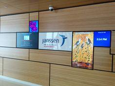 Janssen-digital signage