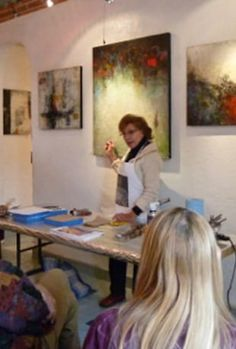 Watch Advanced encaustic painting with Ezshwan Online | Vimeo On Demand -Paintings