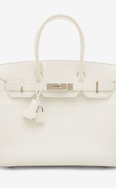 Hermès White Handbag | VAUNTE