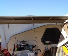 Quick Set Up Awning for TVAN Mark 11 and 111 Camper Awnings, Cricket, Outdoor Decor, Ideas, Home Decor, Decoration Home, Room Decor, Campervan Awnings, Cricket Sport
