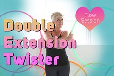 Twin Hooping : Double Extension Twister | Hula Hoop Dance Videos and Tutorials | HOOPLOVERS.TV