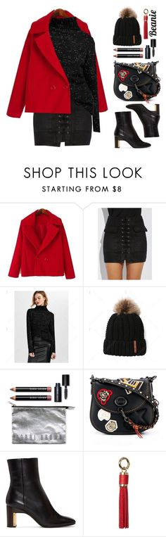"""""""Street Style"""" by beebeely-look ❤ liked on Polyvore featuring Bobbi Brown Cosmetics, Coach, Rosetta Getty, Dorothy Perkins, StreetStyle, streetwear, blackoutfit and twinkledeals"""
