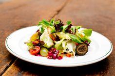 Herbstsalat mit Hirschschinken