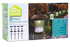HGTV Solar LED Pathway Lights  8 pack *** Continue to the product at the image link.