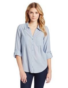 Joie Women's Cartel Chambray Button Down Shirt, Chambray Blue, X-Small Joie http://www.amazon.com/dp/B00GFH1GU0/ref=cm_sw_r_pi_dp_r0wMtb1STFH3RY05