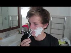 SHAVING - This is probably one of my favorite Caspar Lee's videos
