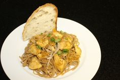 Easy Chicken Curry with Pasta