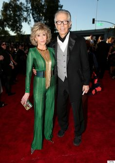 I need this outfit.  Jane Fonda's 2015 Grammy's Outfit Puts Everyone Else To Shame!