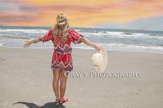 Senior girl pic at the beach