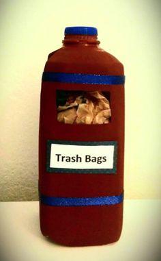 Frugal Craft: Plastic Bag Holder