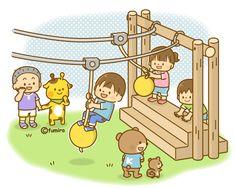 ターザンロープであそぶこどものイラスト(ソフト) Play School Activities, Micro Creche, Ticket Template Free, Image Clipart, School Clipart, Illustrations And Posters, Cartoon Kids, Coloring For Kids, Early Childhood