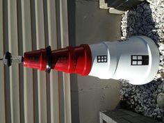 Clay pots lighthouse.