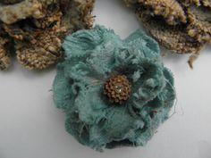 Uniquely ella: Fabric flowers diy/ stiff stuff on flowers to make them firm