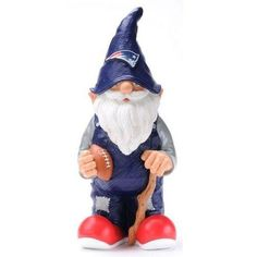 "New England Patriots Garden Gnome - 11"" Male"