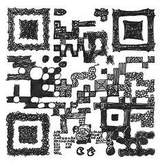 QR code Ink Sketch