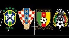 WM 2014 - Gruppe A: Live-Stream, Ergebnisse, Tabelle, Spielplan, Kader: Brasilien - Kamerun & Kroatien - Mexiko
