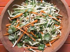 Spicy Thai-Style Zucchini Carrot Salad