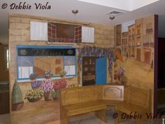 Clients wanted to feel like they were in a Parisian cafe while sitting in their kitchen  www.DebbieViola.com