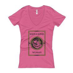 Gorgeous V-Neck | Wholesom... Check it out here! http://shop.cabinetforthecurious.com/products/v-neck-wholesome-woman-t-shirt?utm_campaign=social_autopilot&utm_source=pin&utm_medium=pin