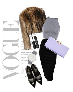 1/1/16 by monika-hilbrycht on Polyvore featuring polyvore, fashion, style, RED Valentino, Yves Saint Laurent, Ted Baker, Larsson & Jennings, NARS Cosmetics, women's clothing, women's fashion, women, female, woman, misses and juniors