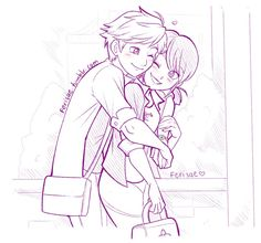 Adrien et Marinette