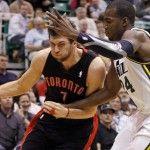 NBA: Tra Toronto e Utah si giocano 3 OT, 140-133 per i Jazz. http://www.palledicuoio.com/wordpress/nba-tra-toronto-e-utah-si-giocano-3-ot-140-133-per-i-jazz/