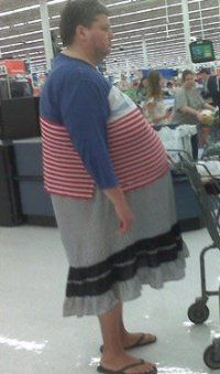 Meanwhile at Walmart...  I found Waldo!  This guy ate him.