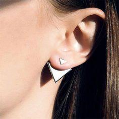 Triangle Punk Jewelry Stud Earrings