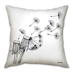 Blow of the wind cushion, design 2, @mydeco