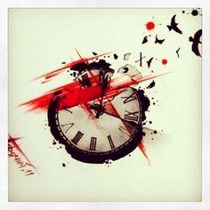 plantilla-reloj.jpg (564×564)