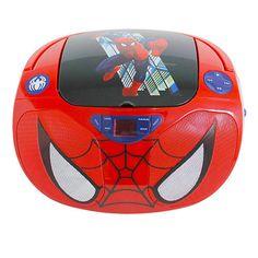 "*Carter* SPIDERMAN CD BOOMBOX - Sakar International - Toys ""R"" Us"